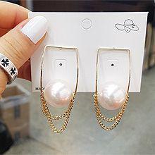 51697耳钉式珍珠 珠子 圆形 三角形