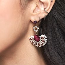 51707耳钉式半圆 扇形 珍珠 珠子