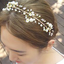51628发箍发带, 植物发箍 珍珠 珠子 花