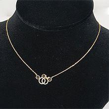 51826锁链形, 单层链, 动物米奇 圆形