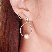 51851耳钉式珍珠 珠子 8