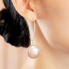 51886钩形, 耳圈耳扣珍珠 珠子