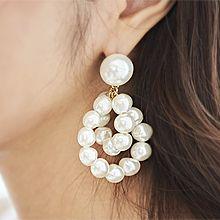 51911耳钉式珠子 珍珠