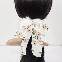 52011发圈发绳, 蝴蝶结, 植物毛毛 蝴蝶结 圆形 珍珠 珠子 花 叶子