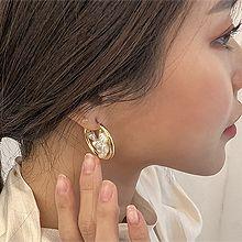 52048耳圈耳扣珍珠 圆形 珠子