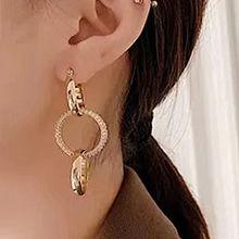 52083耳圈耳扣圆形 圆环 不对称