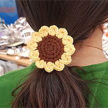 51814发圈发绳, 植物花 向日葵