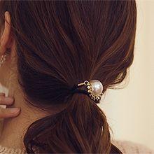 51956发圈发绳珍珠 珠子 圆形 流苏
