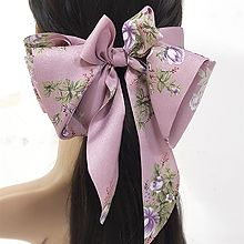 52012边夹顶夹, 蝴蝶结, 植物蝴蝶结 花 弹簧夹