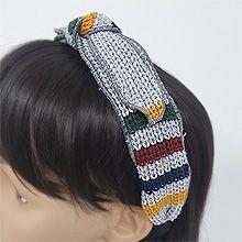 52038发箍发带, 蝴蝶结蝴蝶结 条纹 编织 发箍