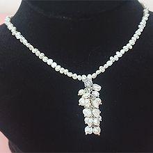 52002穿珠链, 单层链珍珠 珠子 流苏