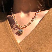 52097锁链形, 单层链, 心形心形