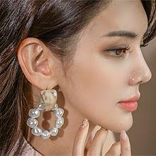 52361耳钉式珍珠 圆形 珠子