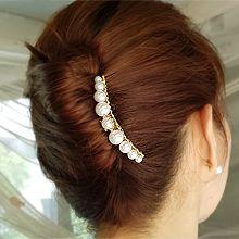 52234发梳插梳珍珠 珠子