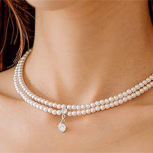 52134穿珠链, 多层链珍珠 珠子 双层