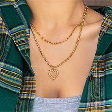 52148珠仔链, 多层链, 心形心形 圆形 两件套