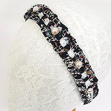 49638发箍发带发箍 流苏 珠子