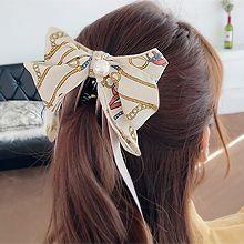 49571香蕉夹, 蝴蝶结蝴蝶结 珠子 绳子
