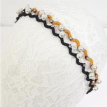 49776发圈发绳发箍 S形 珠子