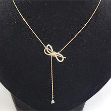 49779锁链形, 单层链, 蝴蝶结蝴蝶结 水滴形