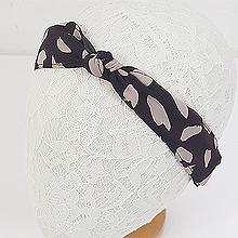49821边夹顶夹, 蝴蝶结, 平面/立体几何图形蝴蝶结 发箍