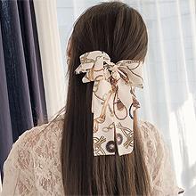 49876边夹顶夹, 蝴蝶结, 平面/立体几何图形蝴蝶结 珠子 圆形 弹簧夹 绳子 流苏