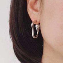 49956耳钉式珠子 不规则形