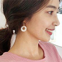 49990耳圈耳扣, 平面/立体几何图形长方形 圆环