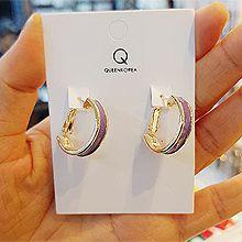 50015耳圈耳扣, 平面/立体几何图形圆环