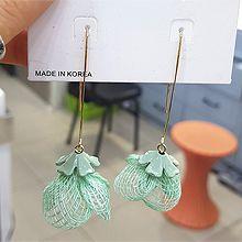 50041钩形, 植物花 编织