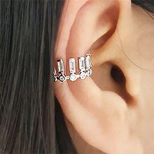 50051耳夹耳夹 长方形 圆形
