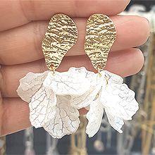 50055耳钉式花瓣 不规则形 C形