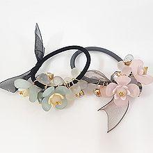 49943发圈发绳, 蝴蝶结, 植物蝴蝶结 花