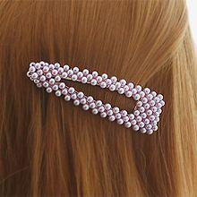 49955边夹顶夹BB夹 三角形 珠子