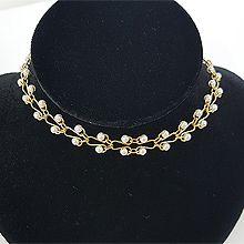 49940单层链, 平面/立体几何图形珠子 圆形