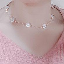 49942单层链, 平面/立体几何图形圆形 珠子