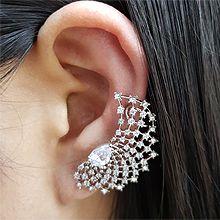 50070耳钉式, 耳夹, 平面/立体几何图形水滴形