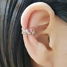 50071耳夹, 心形, 平面/立体几何图形心形 长方形