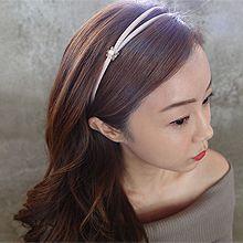 50350发箍发带, 平面/立体几何图形花 双层 发箍