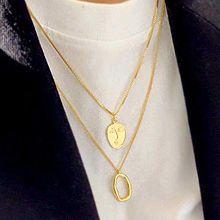 50081锁链形, 多层链, 其他分类特征, 人物人体人脸 椭圆形 贝壳
