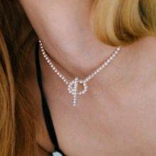 50232穿珠链, 单层链珠子 圆形