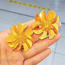 50455耳钉式, 植物花