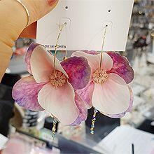 50523耳圈耳扣, 植物, 平面/立体几何图形花