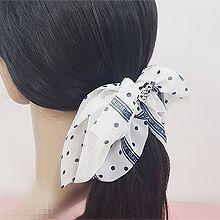 50549边夹顶夹, 蝴蝶结, 心形, 平面/立体几何图形蝴蝶结 弹簧夹 圆点 心形