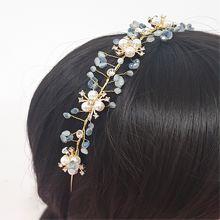 50556发箍发带, 植物花 珠子 流苏 发箍