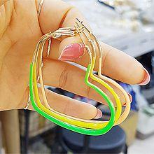 50587耳圈耳扣, 心形, 平面/立体几何图形心形