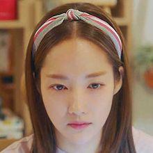 50437发箍发带发箍 打结 条纹 明星款 朴敏英 韩剧 她的私生活