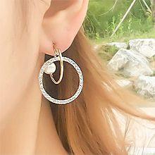 50650耳钉式C形 珠子 水滴形  圆环 圆形