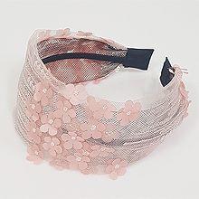 50779发箍发带, 植物, 平面/立体几何图形发箍 花 网纱 纯色