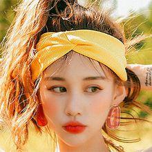 50652发箍发带发带 纯色